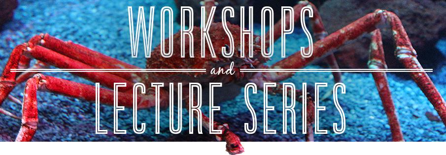workshops and lectures ripleys aquarium canada