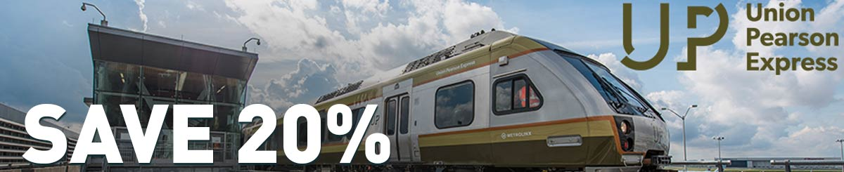 Save 20% on Union Pearson discount
