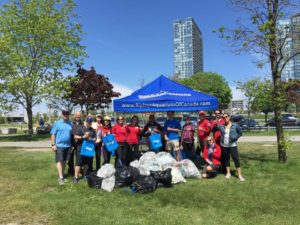 The Great Canadian shoreline cleanup team