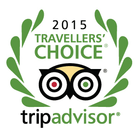 Trip Advisor 2015 Travellers Choice Award