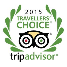Trip Advisor 2015 Travellers Choice Award