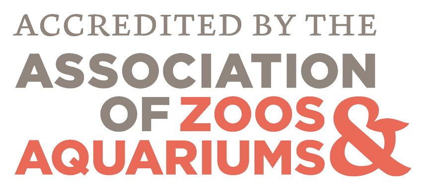 Accredited by the Associated of Zoos & Aquariums