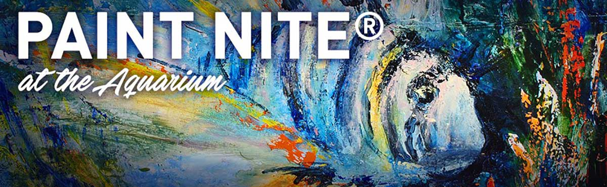 paint nite at the Aquarium
