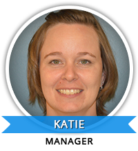 Manager of Education: Katie