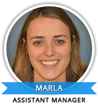 Assistant Manager of Education: Marla