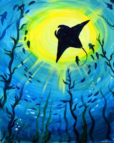 paint nite july 2018