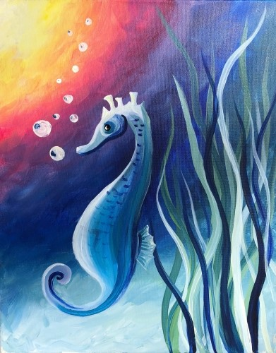 Paint Nite 174 Sold Out Ripley S Aquarium Of Canada