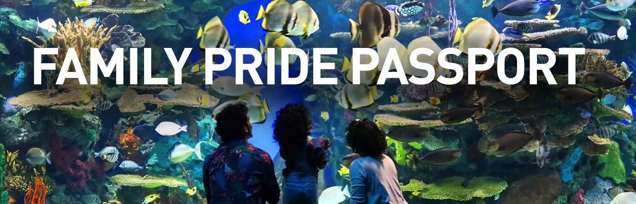 Family Pride Passport promos page