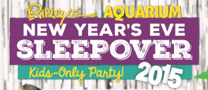 New Year's Sleepover Kids-Only Party 2015