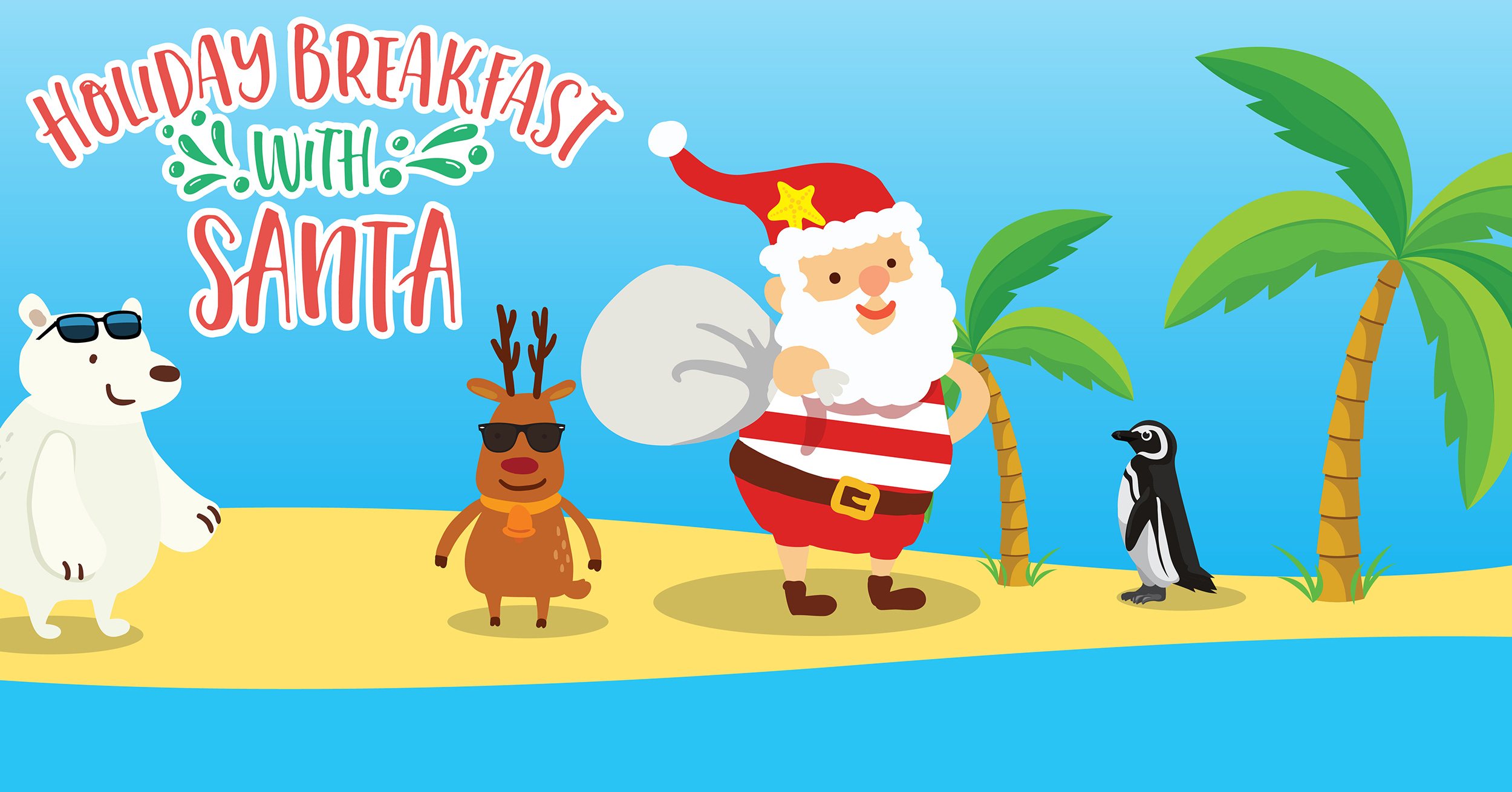 Ripley's Aquarium of Myrtle Beach - Breakfast with Santa
