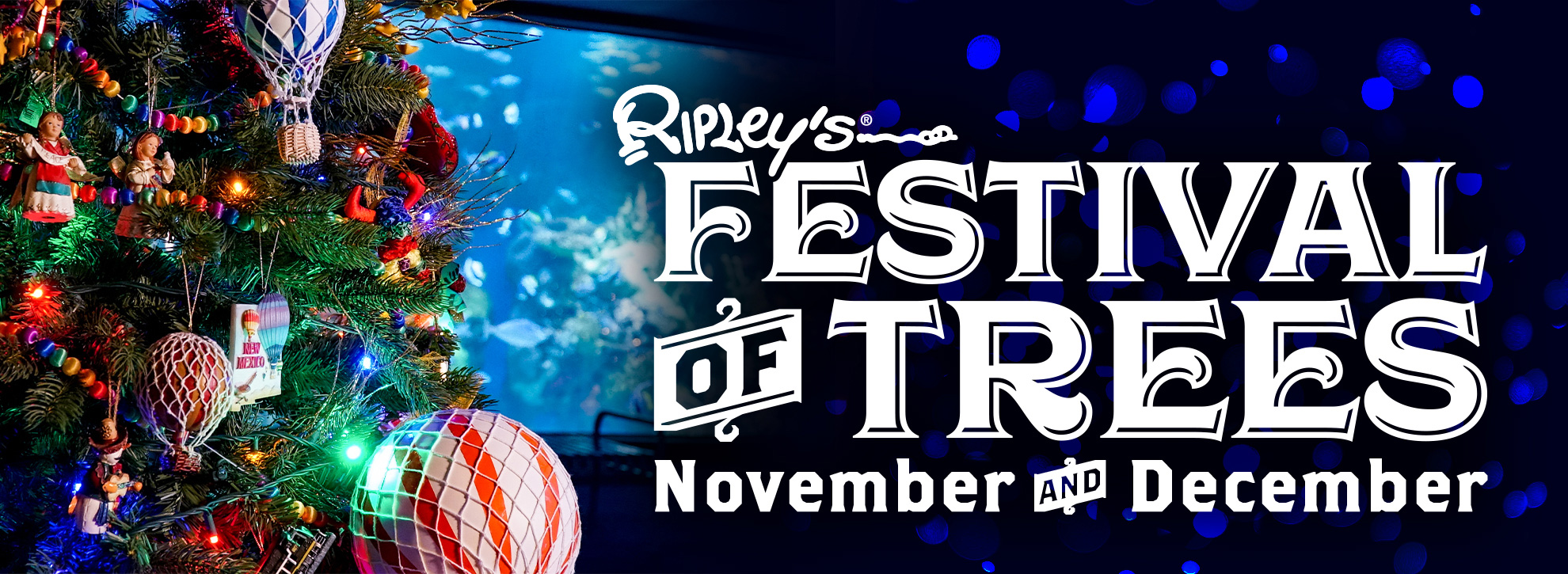 Ripley's Aquarium of Myrtle Beach Festival of Trees