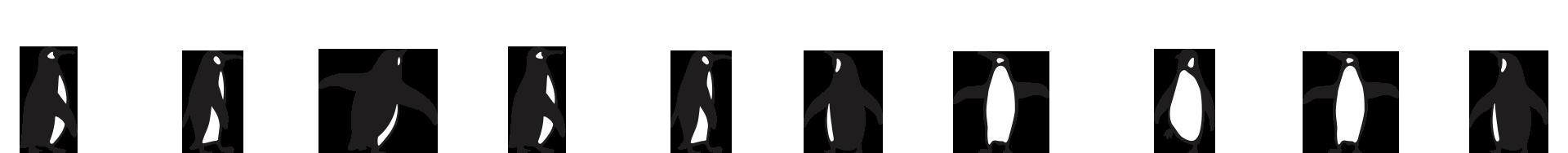 penguins footer image